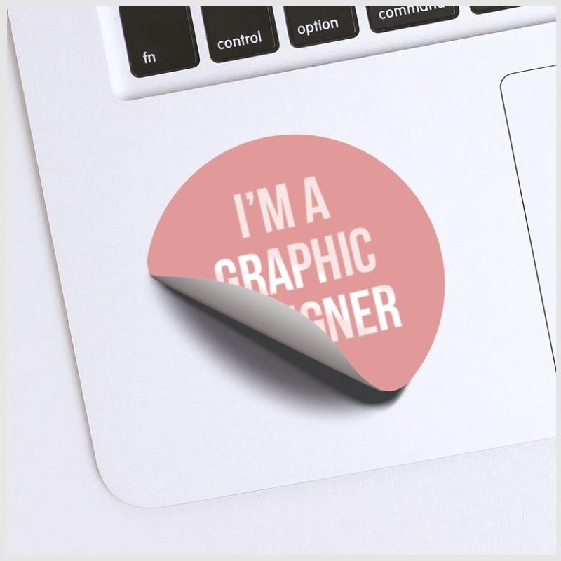 Stampa adesivi personalizzati rotondi