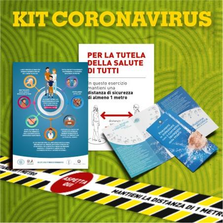 KIT CORONAVIRUS per riapertura fase 2