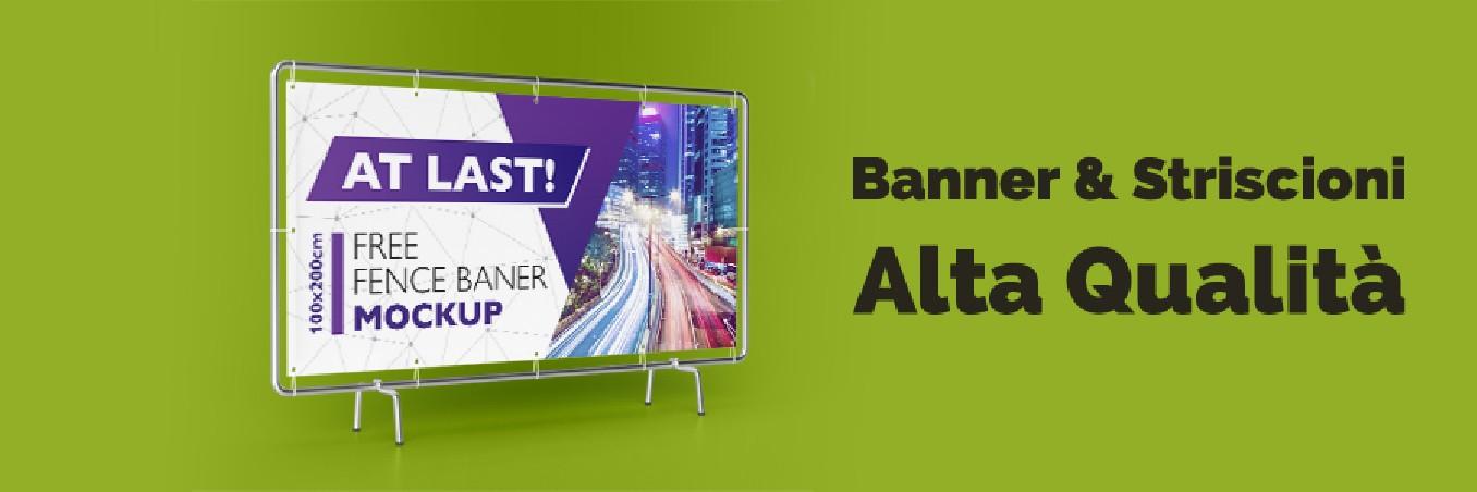 Stampa Banner e striscioni pubblicitari in alta qualità